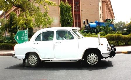 ambassador car india