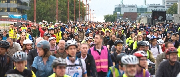 Massive Push Given to cycling in London