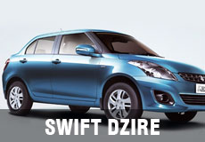 Swift Dzire hire india